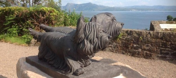 The Skye Terrier's Homecoming Statue